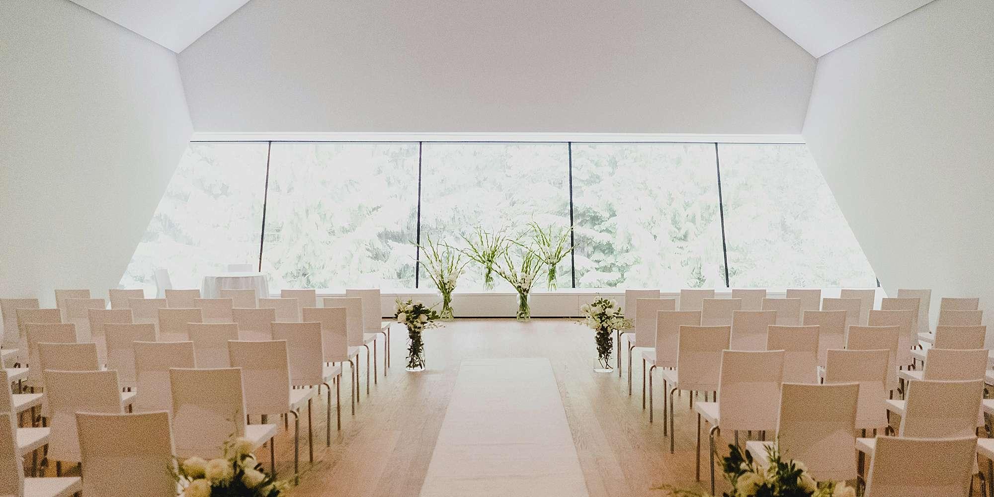 Audain art museum ceremony location upper gallery
