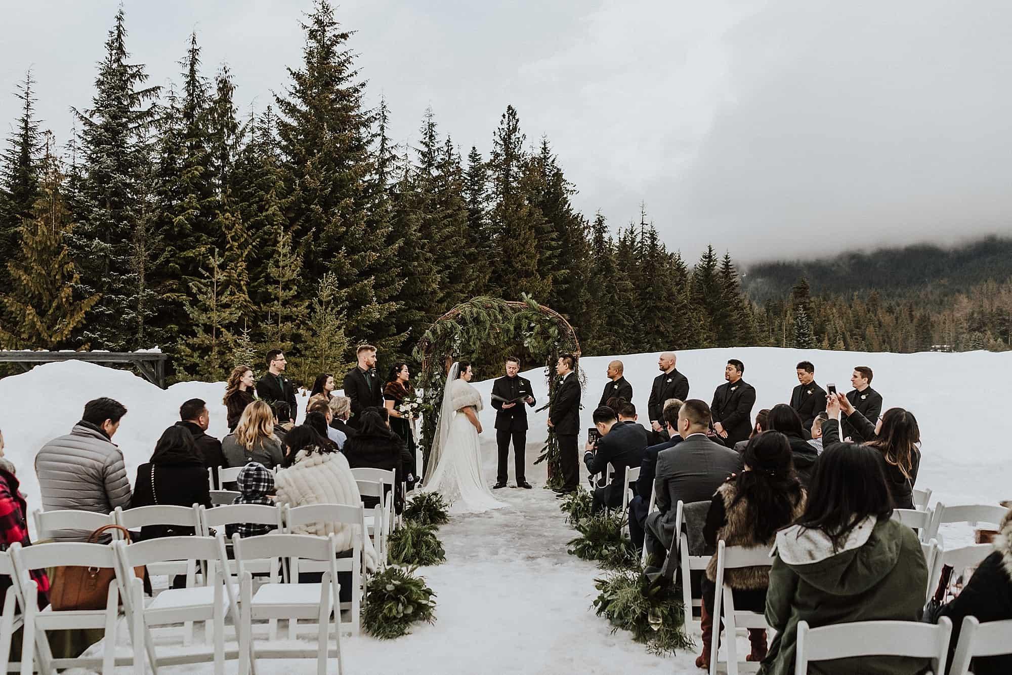 fairmont chateau whistler chalet ceremony location