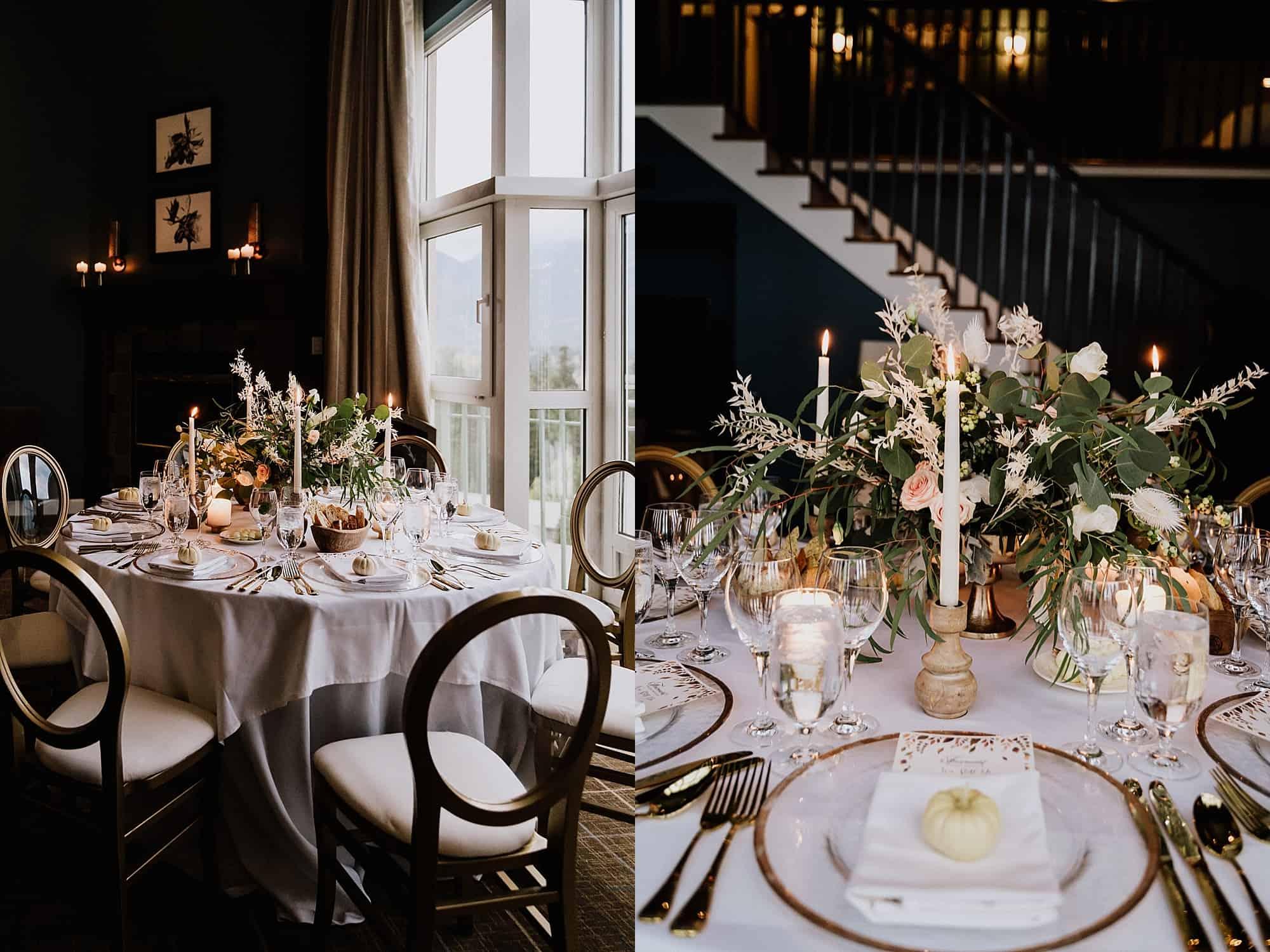 intimate wedding at fairmont whistler penthouse
