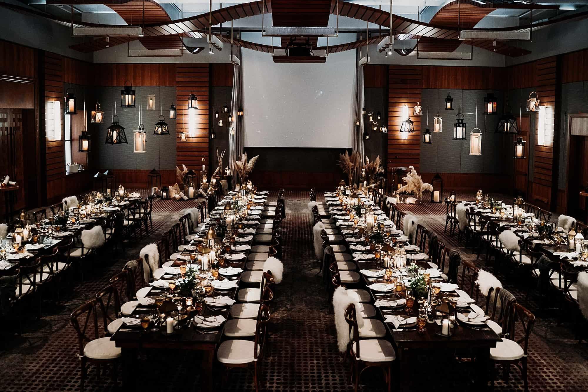four seasons ballroom wedding setup