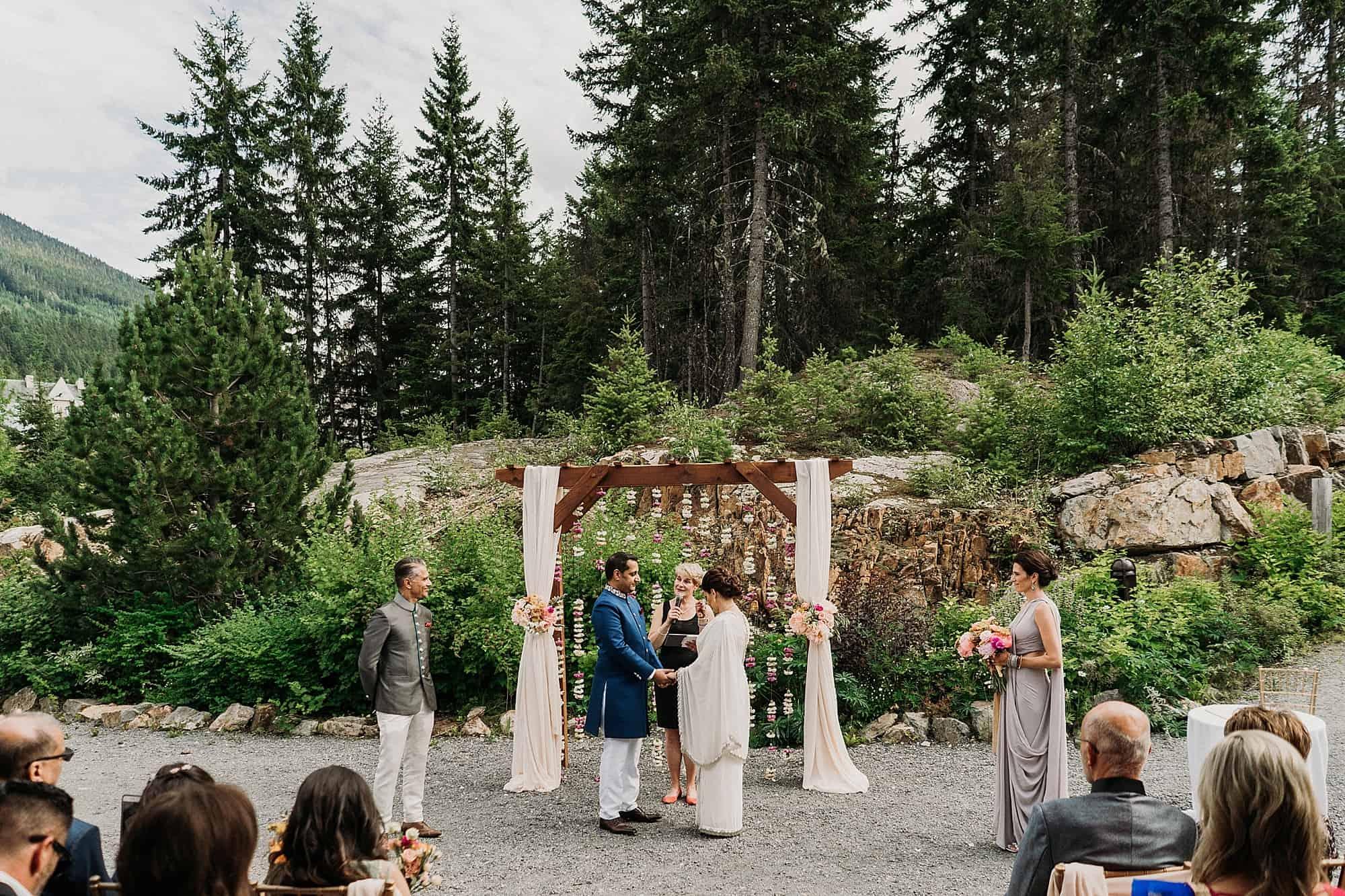 mezzanine level of Squamish lilwat cultural centre wedding