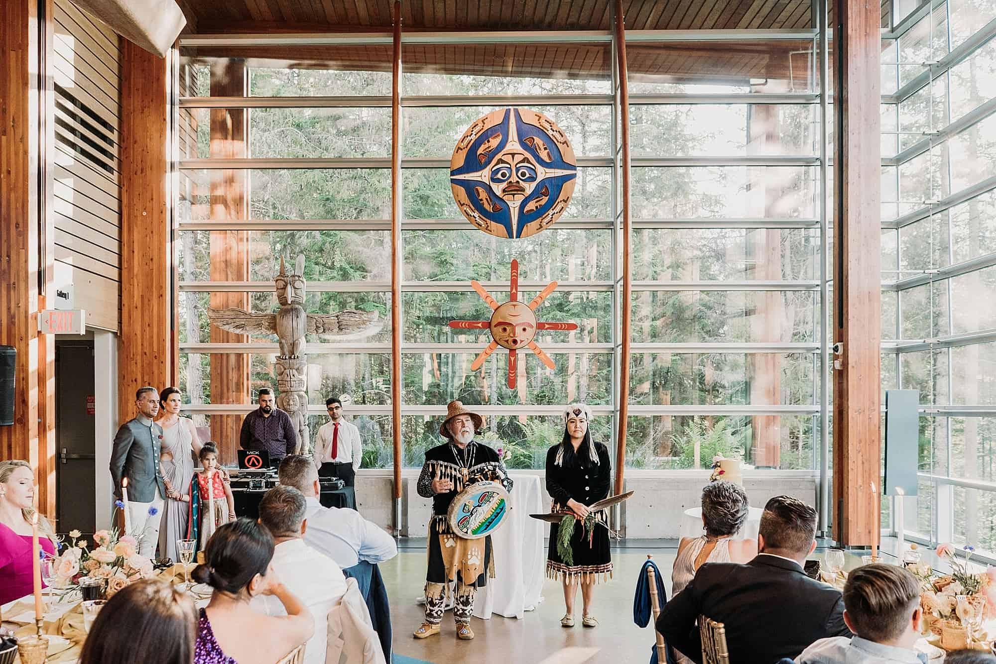 cultural sharing squamish lilwat cultural centre wedding venues